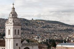 Santo Domingo Church στο Κουίτο, Ισημερινός στοκ εικόνες