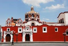 Santo Domingo church. In Puebla, Mexico Stock Images