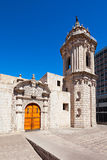 Santo Domingo Church Stock Image
