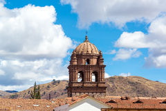 Santo Domingo Church in Cuzco stock foto's
