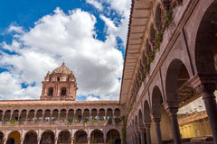 Santo Domingo Church in Cuzco, Peru Royalty Free Stock Image