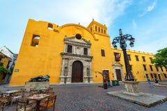 Santo Domingo Church och Plaza Royaltyfria Foton