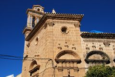 Santo Domingo church, Osuna, Spain. Royalty Free Stock Photos