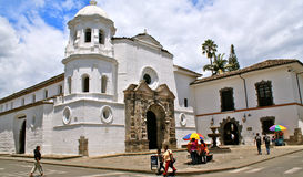 Santo Domingo Church, Popayan, Colombia Royalty Free Stock Images