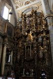 Santo Domingo Church, Puebla, Mexico Royalty Free Stock Photography