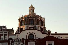 Santo Domingo Church, Puebla, Mexico Stock Image