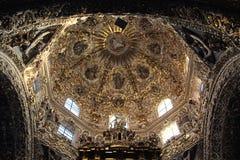 Santo Domingo Church, Puebla, Mexique photo libre de droits
