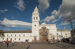 Santo Domingo Church, Quito, Equador imagem de stock