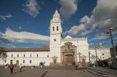 Santo Domingo Church, Quito, Equateur image stock