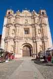 Santo Domingo Church in San Cristobal de las Casas, Mexico Royalty Free Stock Photo