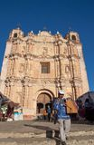 Santo Domingo Church, San Cristobal de las Casas, Mexico Royalty Free Stock Photos
