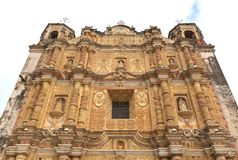 Santo Domingo Church San Cristobal Mexico Photos libres de droits