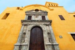 Santo Domingo Church View imágenes de archivo libres de regalías