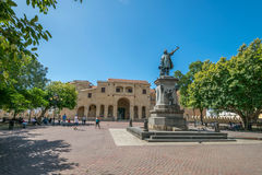 Santo Domingo Columbus Square Photo libre de droits