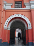 Santo Domingo Convent Lima Stock Images