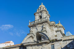 Santo Domingo in A Coruna, Galicia, Spain Royalty Free Stock Photography