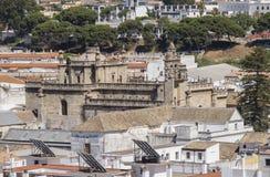 Santo Domingo de Guzman church, Sanlucar de Barrameda, Cadiz, Sp Royalty Free Stock Images
