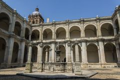 Santo Domingo de Guzman-klooster, Oaxaca, Mexico royalty-vrije stock afbeelding
