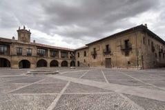 Santo Domingo de SIlos i Burgos, Spanien Arkivfoton