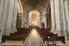 Santo Domingo de Silos Spanien - Oktober 11, 2016: Inre av th Fotografering för Bildbyråer