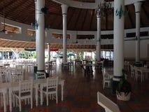 Santo Domingo Dining korridor Arkivbild