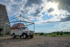 SANTO DOMINGO, DOMINICAANSE REPUBLIEK - CIRCA 2015: PAPAMOBILE Stock Fotografie