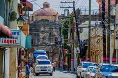 SANTO DOMINGO, DOMINICAANSE REPUBLIEK - NOVEMBER 2015 Stock Foto's
