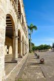 Santo Domingo, Dominican Republic. Alcazar de Colon (Diego Columbus House), Spanish Square. Royalty Free Stock Photos