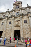 SANTO DOMINGO, DOMINICAN REPUBLIC - MARCH 24, 2017: Exterior of the National Pantheon of the Dominican Republic. Originally a Jesu Royalty Free Stock Image