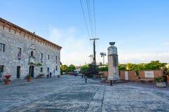 Santo Domingo, Dominican Republic. Museum of Las Casas Reales (The Royal House). Royalty Free Stock Photo