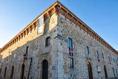 Santo Domingo, Dominican Republic. Museum of Las Casas Reales (The Royal House). Stock Photos