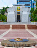 Santo Domingo, Dominikanische Republik Altar de la Patria, der Altar des Vaterlandes Stockbild