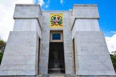 Santo Domingo, Dominikanische Republik Altar de la Patria, der Altar des Vaterlandes Lizenzfreies Stockbild