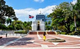 Santo Domingo, Dominikanische Republik Altar de la Patria, der Altar des Vaterlandes Stockbilder