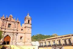 Santo Domingo kyrkadropp arkivbilder