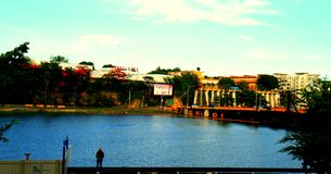 Santo domingo port royalty free stock photography
