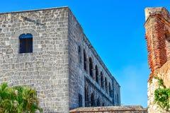 Santo Domingo, République Dominicaine Alcazar de Colon (Diego Columbus House), place espagnole photo stock