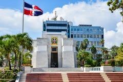 Santo Domingo, República Dominicana Altar de la Patria, el altar de la patria imagen de archivo libre de regalías