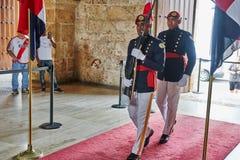 SANTO DOMINGO, REPUBBLICA DOMINICANA - 24 MARZO 2017: Pentola nazionale Fotografia Stock Libera da Diritti
