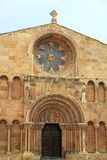 Santo Domingo romanesque church Soria Stock Image