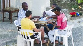 Santo Domingo sein städtisches Gesichtsteil 1 stock video footage