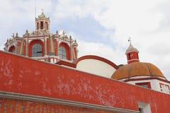 Santo Domingo tempel I arkivfoto