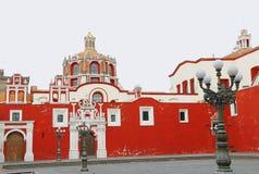 Santo Domingo tempel V arkivbilder