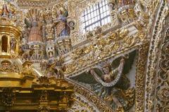 Santo Domingo tempel XVI arkivbilder