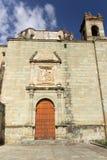 Santo Domingo Temple i Oaxaca Mexico Arkivbild