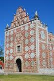 Santo Domingo Temple in Uyama Yucatan Mexico stock foto