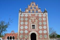 Santo Domingo Temple in Uyama Yucatan Mexico royalty-vrije stock afbeelding