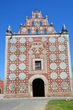 Santo Domingo Temple in Uyama Yucatan Mexico royalty-vrije stock afbeeldingen