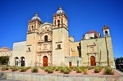 Santo- Domingokirche in Oaxaca, Mexiko Stockbilder