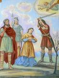 Santo Dorothea de Caesarea Imagen de archivo